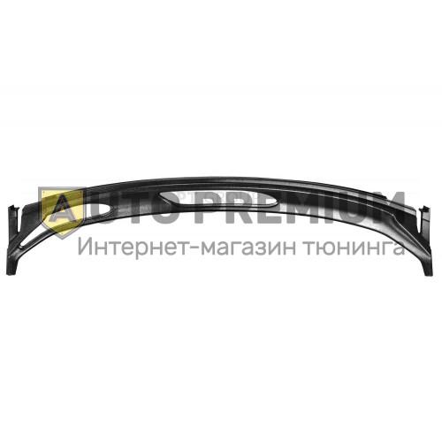 Накладка в проем стеклоочистителей (жабо ABS) Renault SANDERO 2008-2014
